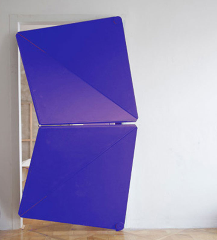 Kelemens Torggler Amazing Doors Fold Onto Themselves Like Origami-1