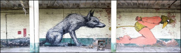 An Abandoned Flemish City Becomes A Giant Canvas Dedicated To Street Art (Photo Gallery)-1