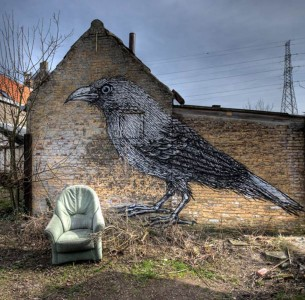 An Abandoned Flemish City Becomes A Giant Canvas Dedicated To Street Art (Photo Gallery)-5