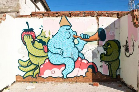 An Abandoned Flemish City Becomes A Giant Canvas Dedicated To Street Art (Photo Gallery)-6