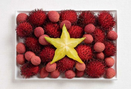 18 Appetizing National Flags Made Using Their Delicious Food Dishes-10
