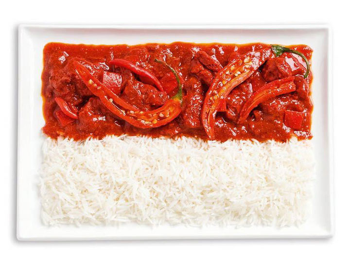 18 Appetizing National Flags Made Using Their Delicious Food Dishes-12
