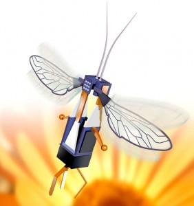 Scientists Respond To The Threat Of Disappearing Bees By Making Insect Robots For Cross Pollination -