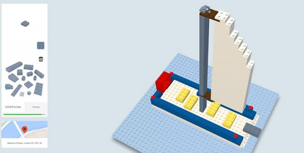Build With Chrome App Enables You To Build virtual LEGO buildings Anywhere In The World (Video)-2