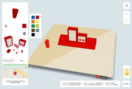 Build With Chrome App Enables You To Build virtual LEGO buildings Anywhere In The World (Video)-5