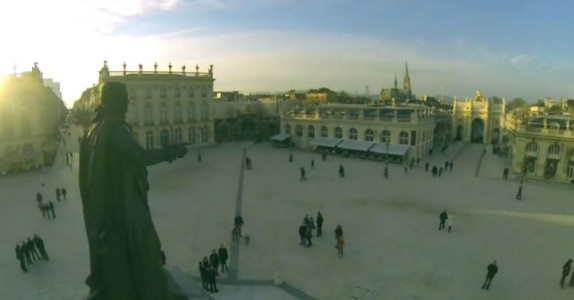 Discover The Beauty Of French City Of Nancy As Filmed By A Drone-2