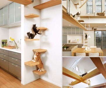 Furniture Designs To Make Your Apartment An Animal paradise-21