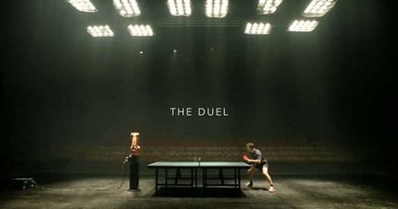 A German Table Tennis Champion Timo Boll Will Face A Robot In A Match-
