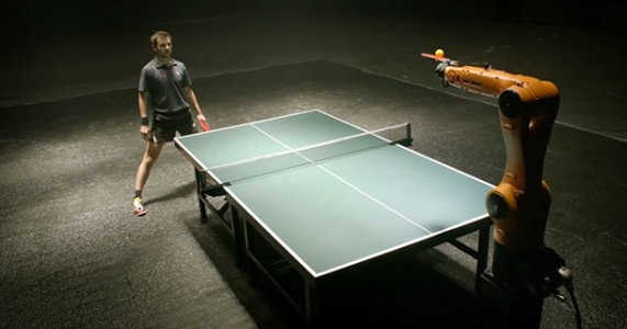 A German Table Tennis Champion Timo Boll Will Face A Robot In A Match-1