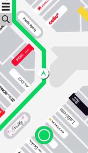 Inside: A Smartphone App That Uses Built-in Sensors For In-building Navigation-