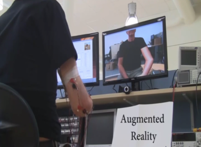 Phantom Limb Pain Relief Using Augmented Reality Techniques-