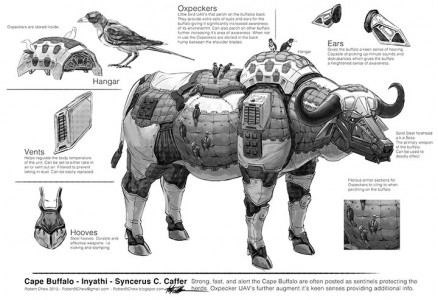 Endangered Robotic Animals Armed To Fight Against Poachers-4