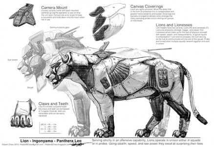 Endangered Robotic Animals Armed To Fight Against Poachers-5