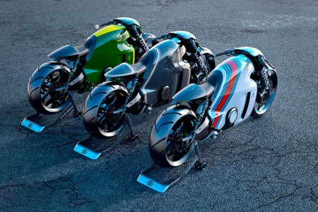 Lotus develops the prototype of Superbike Tron-4
