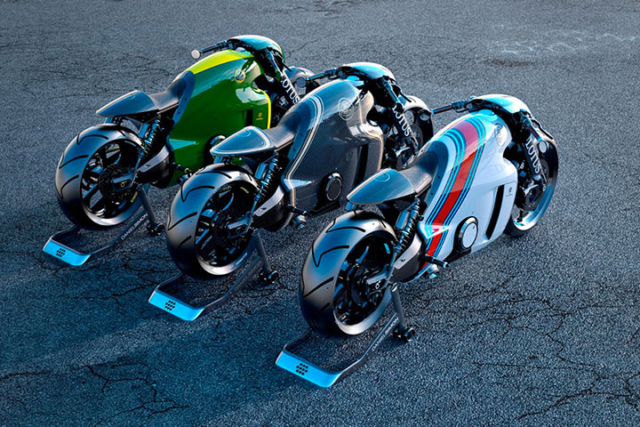 Lotus develops the prototype of Superbike Tron-4
