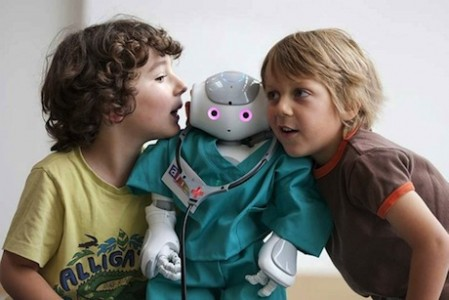 Kids Teaching Robots
