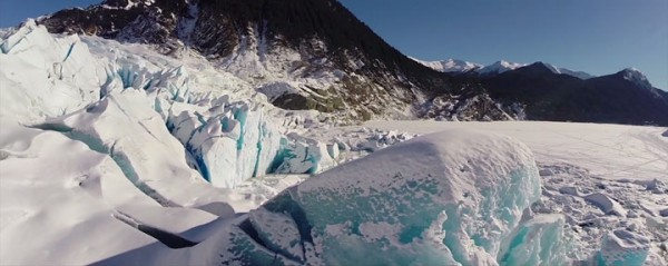 A Drone Explores The Heart Of Alaska's Most Beautiful Cave-1