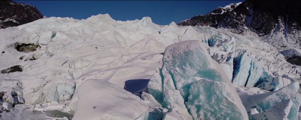 A Drone Explores The Heart Of Alaska's Most Beautiful Cave-2