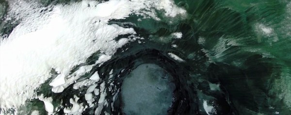 A Drone Explores The Heart Of Alaska's Most Beautiful Cave-4