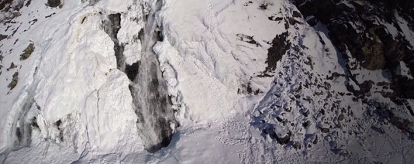 A Drone Explores The Heart Of Alaska's Most Beautiful Cave-5