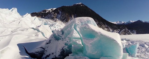 A Drone Explores The Heart Of Alaska's Most Beautiful Cave-7