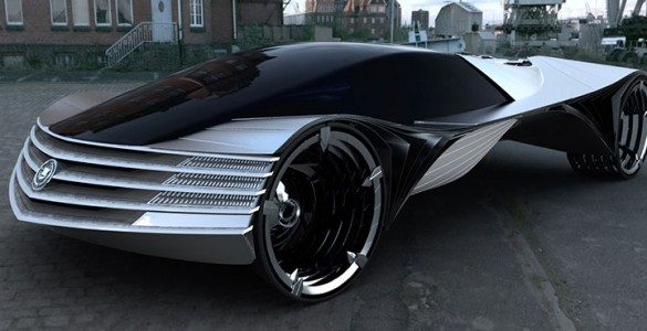 This Concept Car Is Capable Of Running A Century Without A Refill-1