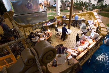 15 Cool Offices Where You Would Want To Work All Your LIfe -1