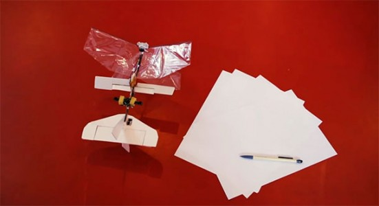 Dutch Scientist Create World smallest Minidrone of the size dragonfly-3