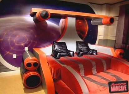 Geek Culture: Top 20 Examples Of Geek Living Rooms -17
