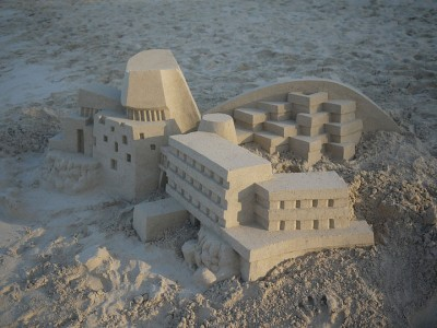 Geometric Sand Castles That Are True Architectural Masterpieces -10