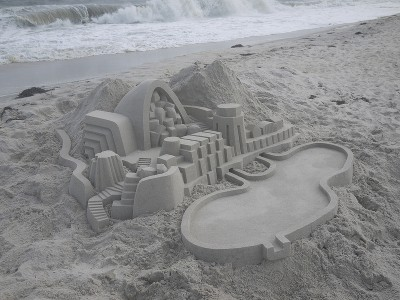 Geometric Sand Castles That Are True Architectural Masterpieces -14