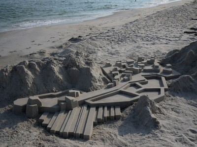 Geometric Sand Castles That Are True Architectural Masterpieces -16
