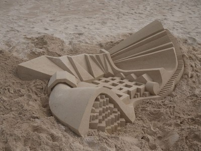 Geometric Sand Castles That Are True Architectural Masterpieces -2