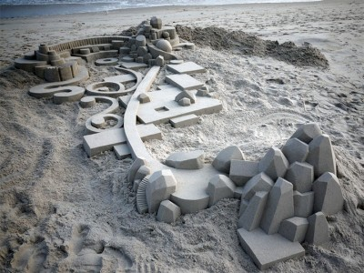 Geometric Sand Castles That Are True Architectural Masterpieces -3