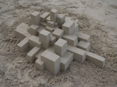 Geometric Sand Castles That Are True Architectural Masterpieces -4