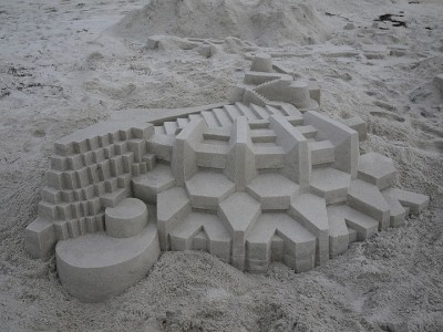 Geometric Sand Castles That Are True Architectural Masterpieces -6