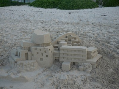 Geometric Sand Castles That Are True Architectural Masterpieces -8