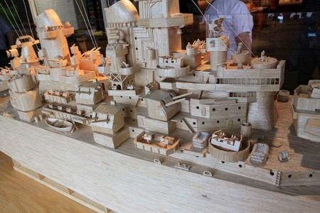 Gigantic Sculptures Made Using Simple Matchsticks-8