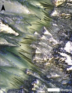 Have Researchers Discovered Water Flow On The Surface Of Mars?-