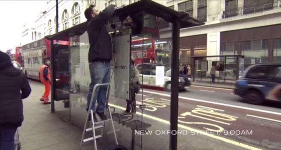 Incredible Bus Stop Shelters Uses Augmented Reality To Stun The Passengers (Video)-
