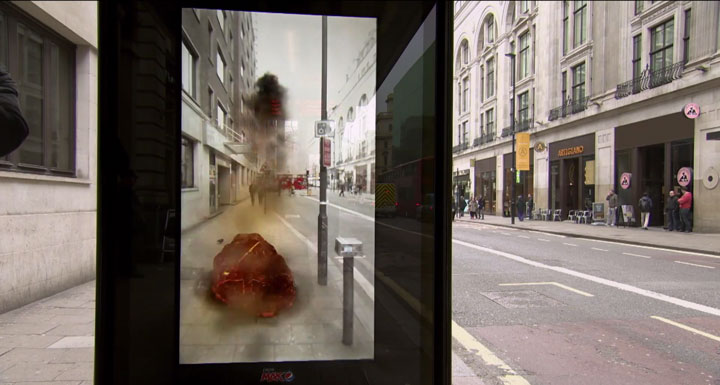 Incredible Bus Stop Shelters Uses Augmented Reality To Stun The Passengers (Video)-3