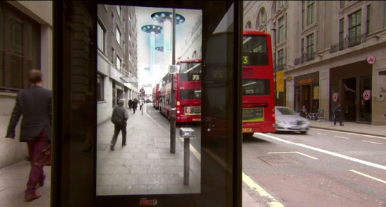 Incredible Bus Stop Shelters Uses Augmented Reality To Stun The Passengers (Video)-4