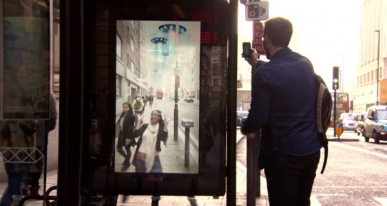 Incredible Bus Stop Shelters Uses Augmented Reality To Stun The Passengers (Video)-7