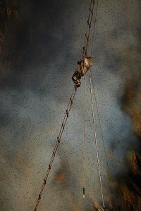 Nepalese Honey Hunter Risk Their Lives On High Cliffs To Feed Their Families -6