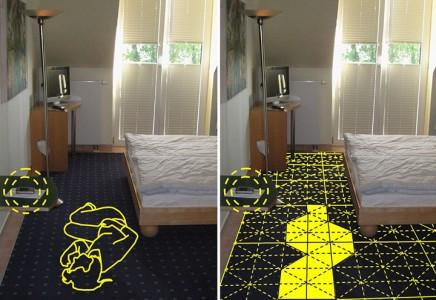 SensFloor: An Intelligent Ground Mat Detects And Calls For Help When Someone Falls (Video)-4