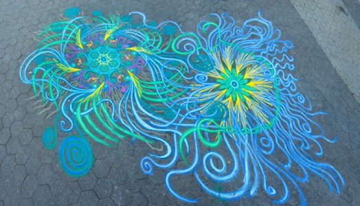 A Street Artist Makes A Series Of Mesmerizing Drawings Using Colored Sand-14