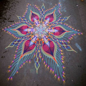 A Street Artist Makes A Series Of Mesmerizing Drawings Using Colored Sand-5