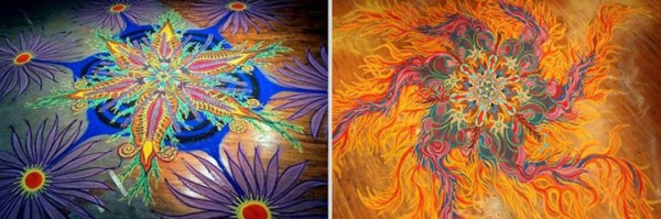 A Street Artist Makes A Series Of Mesmerizing Drawings Using Colored Sand-8