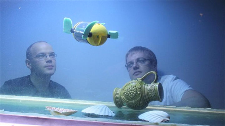U-CAT: A Turtle Robot To Access Difficult Places Underwater (Video)-1