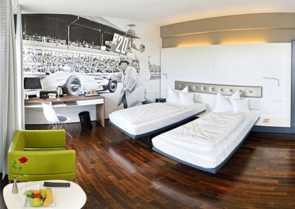 V8 Hotel-A Hotel Dedicated To Automobiles Lets You Sleep In The Most Comfortable Cars (Photo Gallery)-7
